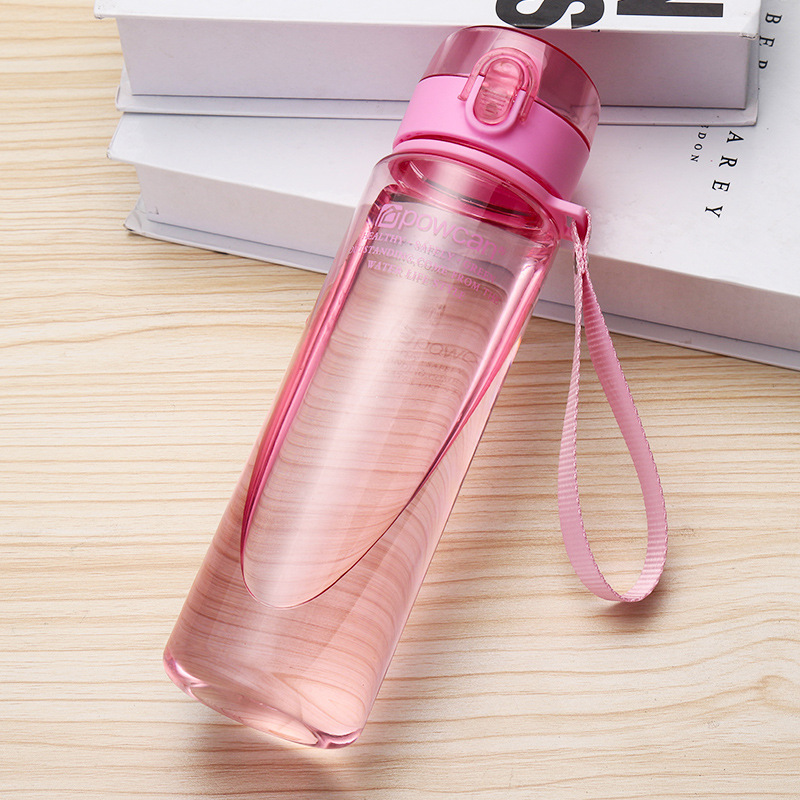 501-600ml Bottle for Water Outdoor Water Bottle Sports Water Bottle Eco-friendly with Lid Hiking Camping Plastic My Bottle.j