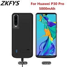 ZKFYS 5000mAh Powerbank Case For Huawei P30 Pro Battery Case Backup Fast Chargin