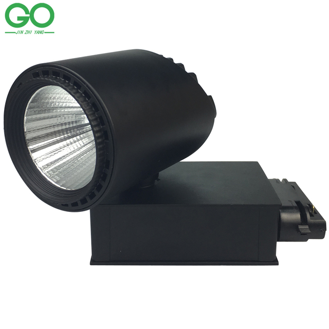 LED Track Light 30W COB 130-140lm/W Modern Global Industrial Clothing Shoes Store Shop Pendant Track Lighting Kits Fixtures