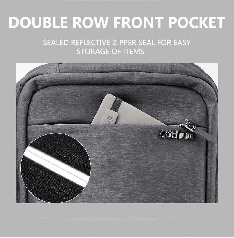 24L Mens 15.6 polegada Mochilas Laptop de Carregamento USB Bagpacks Casuais Masculino À Prova D' Água Sacos de Viagem Escola Estudante Bookbags