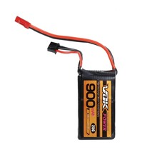 Battery Professor VOK 2S Lipo Battery 7.4V 900mAh 25C Battery Universal For RC Racing Helicopter Drone