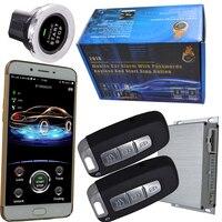 Автосигнализации интеллектуальные start stop смартфон Центральный замок для авто слежения gps поддержку ISO или android мобильного gps позволяют отклю