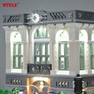 Image 4 - MTELE LED Light Up Kit For Creator Brick Green Bank Lighting Set Compatible With 10251 (Not Include Model)