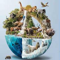 5D DIY Full Diamond Painting Animals collection,elephant, whale, polar bear Diamond Embroidery 3D Cross Stitch Home Decor Gift