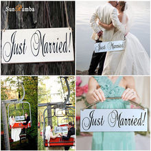 1pcs Rustic Wedding Decor Wood Hanging Sign Decoration Signs Mariage Party Decorations for Photo Booth