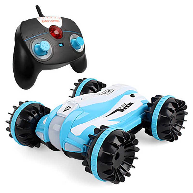 Rc barco Radio Control juguetes para niños sin escobillas Mini Radio Control bote Rc coche agua anfibio Control remoto barco Juguetes rc