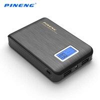 DOSHIN Power Bank 12000mah Dual USB Output Mobile Portable Charger 18650 Powerbank External Battery For IPhone