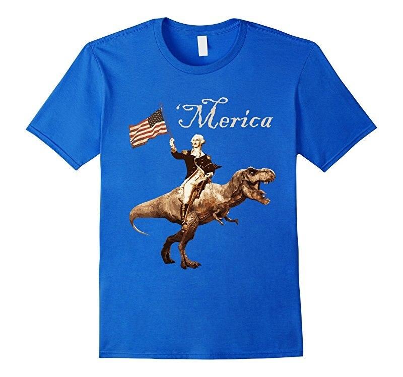 George Washington Riding A Tyrannosaurus Rex 'merica T ...