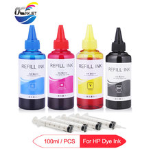 4x100ml Universal Dye Ink Bottle For HP 178 364 564 655 670 685 711 920 932 933 934 950 951 952 953 954 955 Printer Ink For HP
