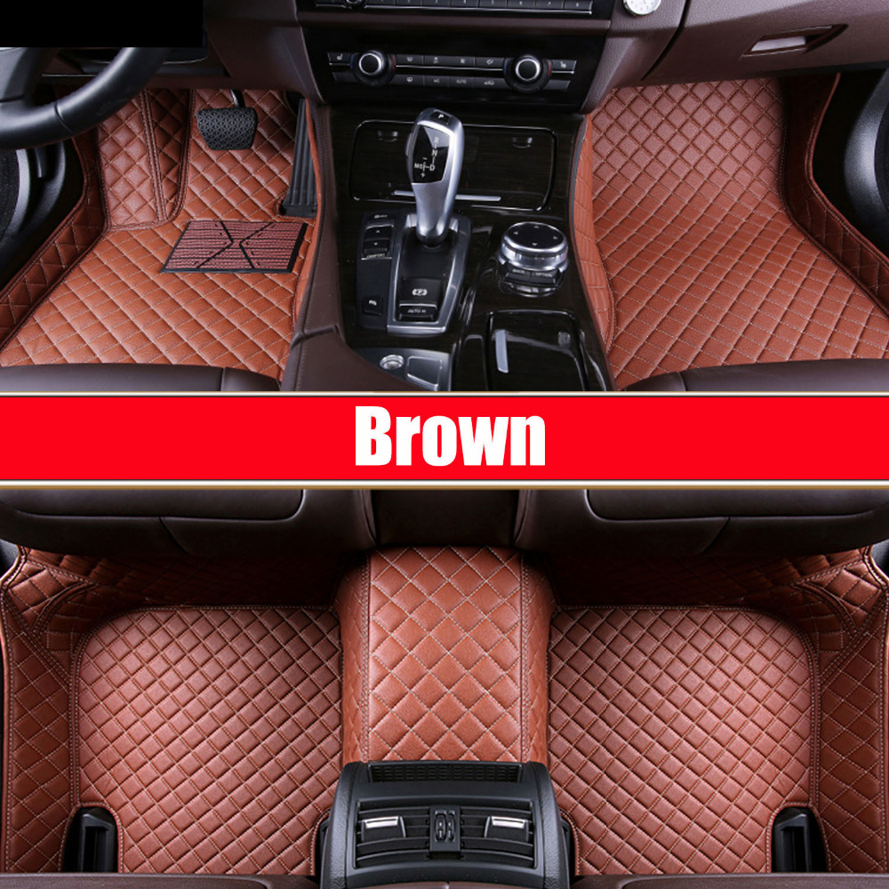 Car floor mats made for Toyota Land Cruiser 200 Highlander Camry Prado RAV4 foot case car styling carpet liners (2007-)Car floor mats made for Toyota Land Cruiser 200 Highlander Camry Prado RAV4 foot case car styling carpet liners (2007-)