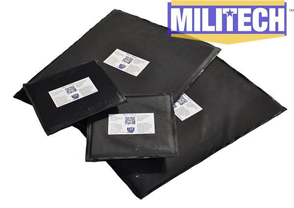 MILITECH Bulletproof Aramid Ballistic Panel Plate Inserts Body Armor Soft Armour NIJ Level IIIA 3A 11 x 14 & 6 x 6 Pairs Set bulletproof aramid ballistic panel bullet proof plate inserts body armor soft side armour panel nij level iiia 3a 5 x 8 pair