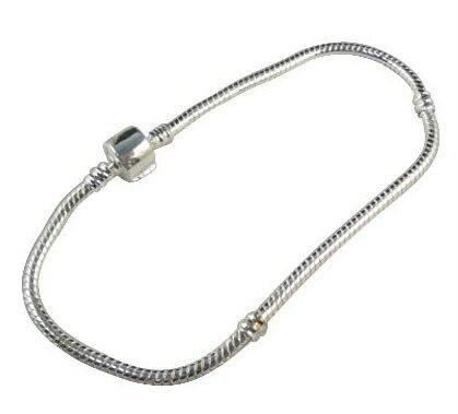 10 шт. Европейский Стиль Тибет серебряный браслет 20 см(3399
