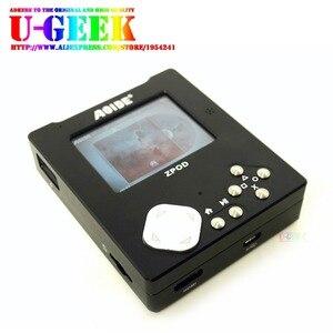 UGEEK ZPOD bezstratna muzyka HiFi plansza do gry + aluminiowy zestaw etui CNC | 192k/24bit | Bez Raspberry Pi Zero | Przenośny | Odtwarzacz gier | Retropie