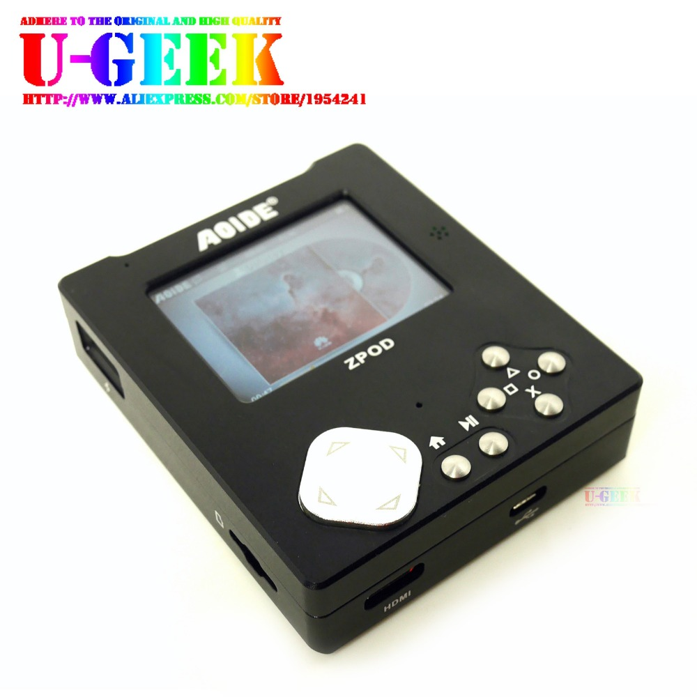 UGEEK ZPOD lossless HiFi music player mainboard Aluminum CNC case kit k