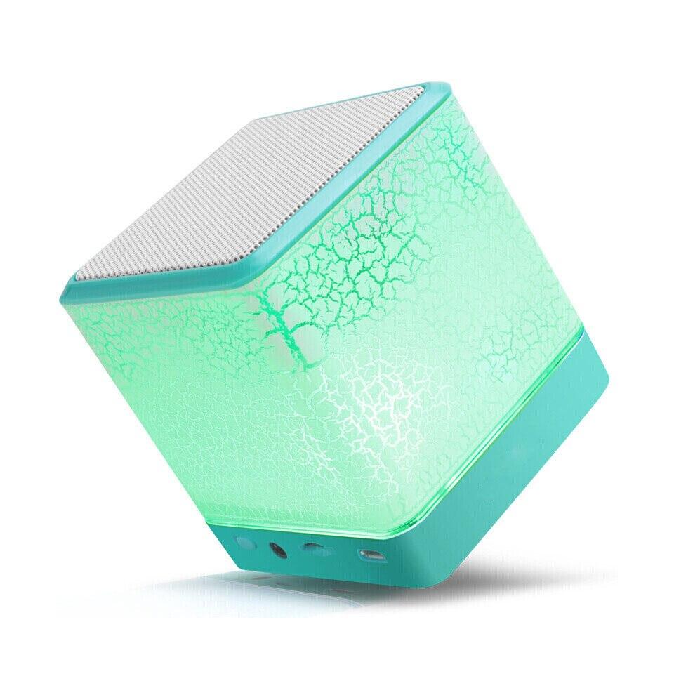 Drahtlose Mini Bluetooth Lautsprecher Bunte Licht Risse Subwoofer Für Tf Card Voice Fordert Freisprecheinrichtung Droproof Staubdicht Lautsprecher Ohne RüCkgabe Unterhaltungselektronik Lautsprecher
