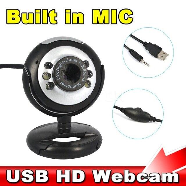 Kebidumei USB 30 m Camera HD với Microphone 30 Mega Pixel Web Cam 6 DẪN HD HD Webcam Webcam Máy Ảnh MIC CHO PC MÁY TÍNH XÁCH TAY