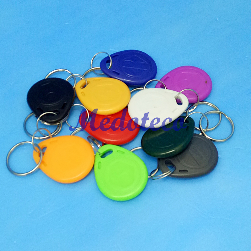 10 Pcs/lot EM4305 Copy Rewritable Writable Rewrite EM ID keyfobs RFID Tag Key Ring Card 125KHZ Proximity Token Access Duplicate t5577 copy rewritable writable rewrite duplicate rfid tag can copy 125khz card proximity token keyfobs