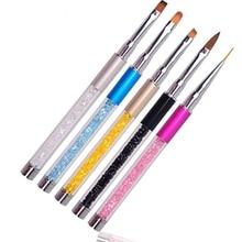 Natural 20PCS/Set Nail Art Pens Painting Drawing Polish Brush Tools