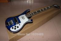Free Shipping The New Style 4003 Bass Sky Blue Electric Bass Guitar Musical Instrument Stock