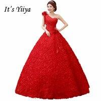 2017 Summer Vestidos De Novia Real Photo Rose High Quality Wedding Dresses Red White Princess Bride