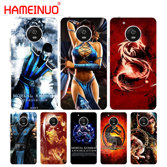 US $1 99 32% OFF|HAMEINUO Scorpion Sub Zero Mortal Kombat x case cover for  For Motorola moto G6 G5 G5S G4 PLAY PLUS ZUK Z2 pro-in Half-wrapped Case