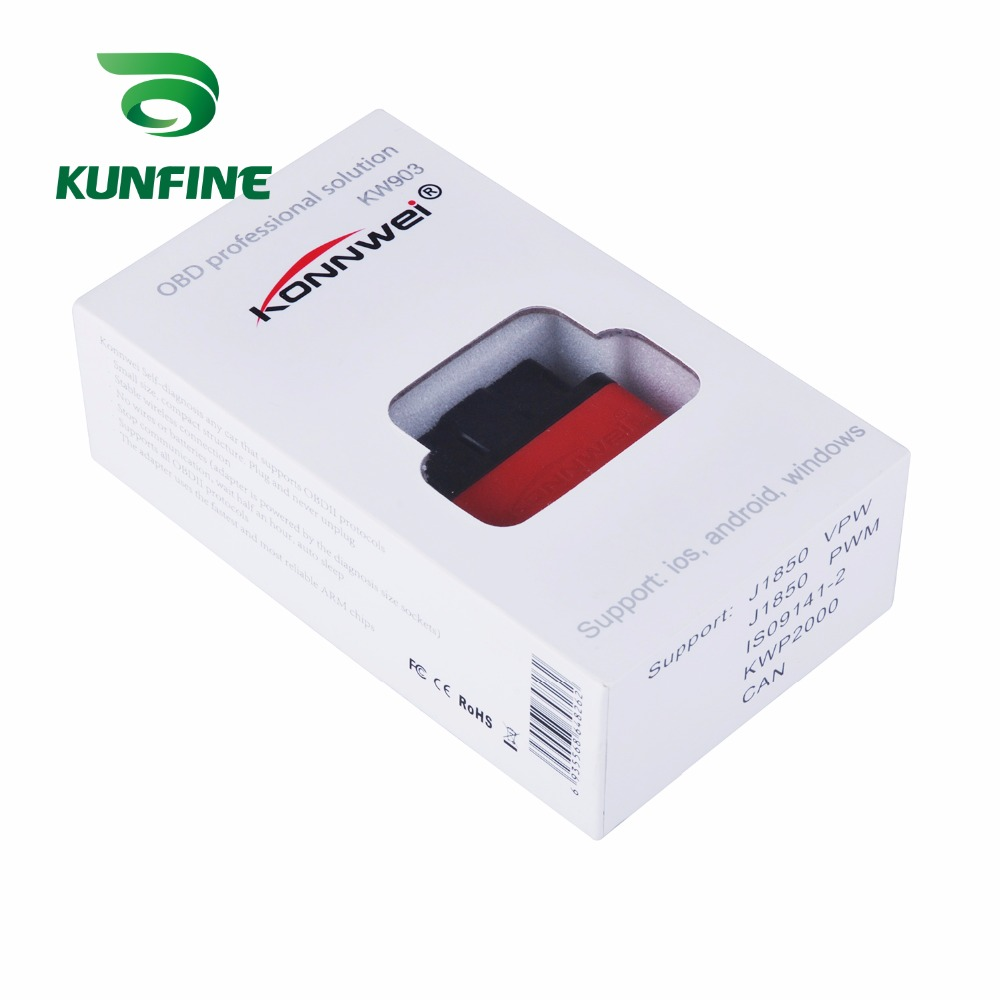 Auto Diagnostic Tool Car engine code Scanner Vehicle fault reader KF-A1189_8240