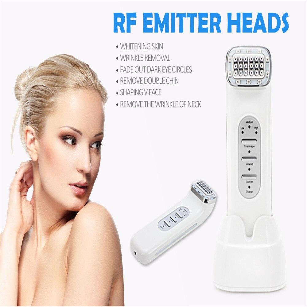 RF Radio RF Lift Face Machine Skin Tightening SPA KONMISON RF Frequency Massager Correction of Wrinkles Facelift Braces