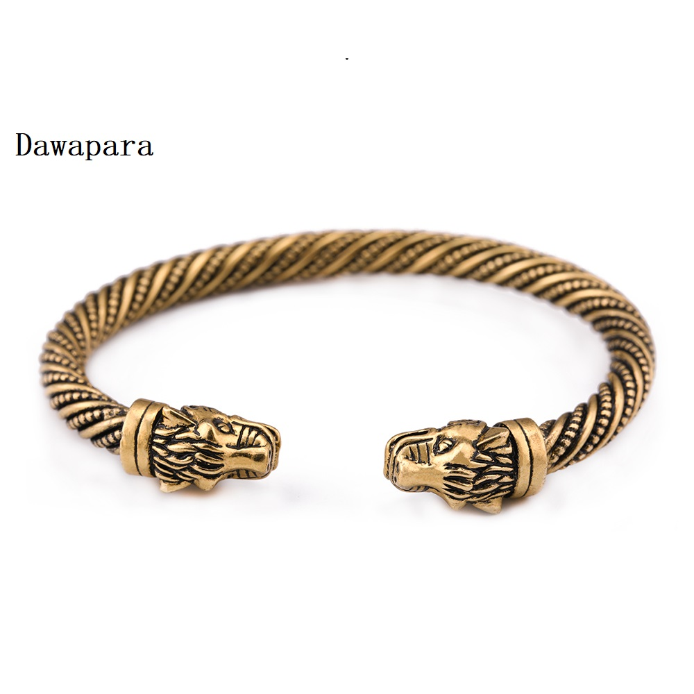 Women Vintage Bohemia Bracelet Bronze Crystal Oval