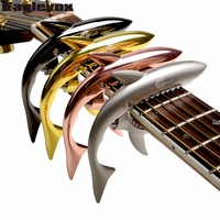 Zinc Alloy Shark Capo For Acoustic Electric Classical Guitar Musical Instrument Guitar Accessories GC 30