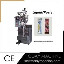 Automatic liquid honey sauce sachet filling packing machine brand new gear pump liquid filling machine 3 4000ml for perfume sauce milk