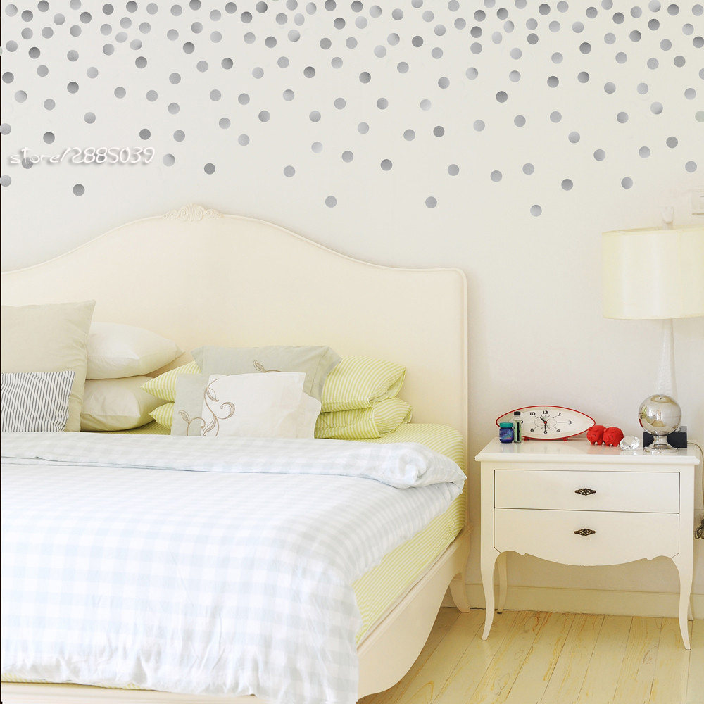 120pcsset gold dot wall stickers vinyl wall decals decor kids 120pcsset gold dot wall stickers vinyl wall decals decor kids room wallpaper high quality wall tattoo home design mural sa516 in wall stickers from home amipublicfo Images