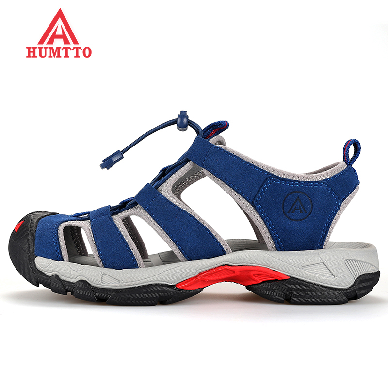HUMTTO Men's Summer Outdoor Water Hiking Trekking Sandals Shoes Sneakers For Men Wading Aqua Mountain Sandals Sandal Shoes Man