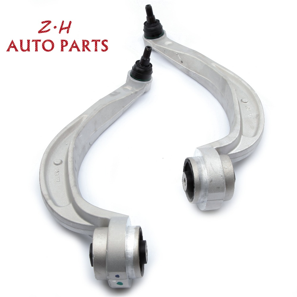 US-JSM Pair Set Rearward Lower Front Control Arms OEM 8K0407693N 8K0407694N Fit for Audi A4 A5