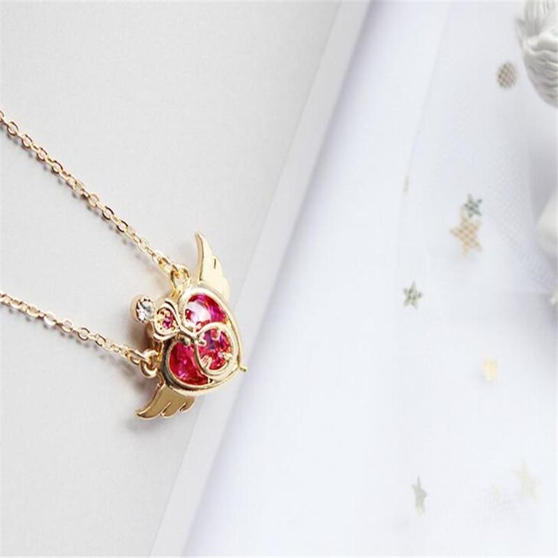 Sailor Venus Costume Necklace Love Necklace Sailor V Love Beauty Necklace Sailor Moon Necklace Mina Costume Sailor Moon Costume Jewellery