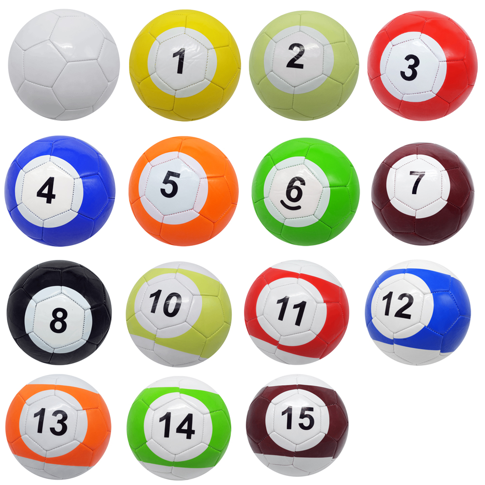 3 7 Inch 16 Pcs Snookball Snook Football Gaint Snooker Soccer Ball In Game Huge Billiards