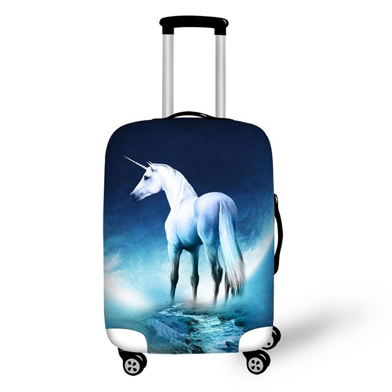 Дорожные аксессуары изображениями животных suitcasecover багажа coversuitcase защитные чехлы тег Fundas maletas де Viaje travelgadgets