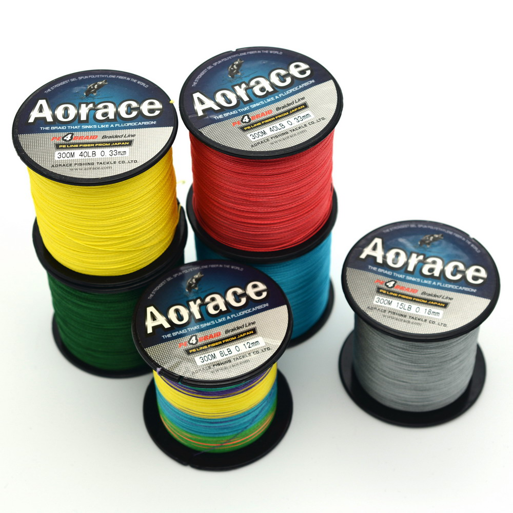 Buy 300m braided fishing line 8lb 90lb for Where to buy fishing line