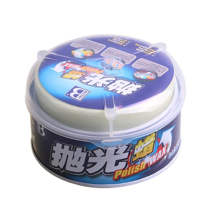 Polishing Paste Car Wax Gloss Car Polishes Paste Wax Car Paint Care Hard Wax Auto Beauty Accessories with spongia LH-121
