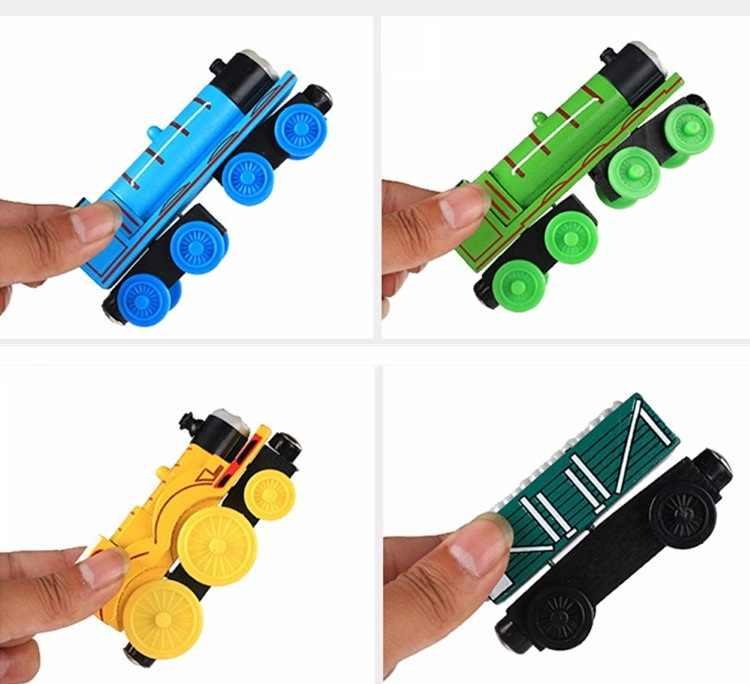 ТОМАС и друг магнитные поезда игрушки трек железная дорога игрушечные транспортные средства деревянный локомотив автомобили для детей подарок поезд модель