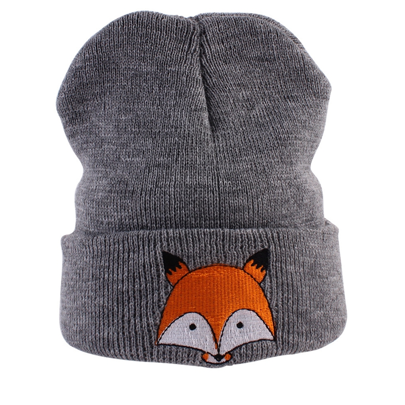 2017 Winter Hats For Kids Knitted Children Hat Warm Caps Baby Boys Girls Cute Hats Skullies Beanies