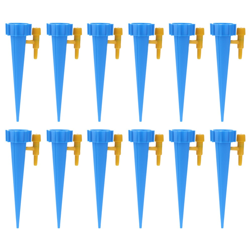 12PCS Self-contained Auto Drip Irrigation Watering System Automatic Watering Spike For Plants Flower Indoor Household