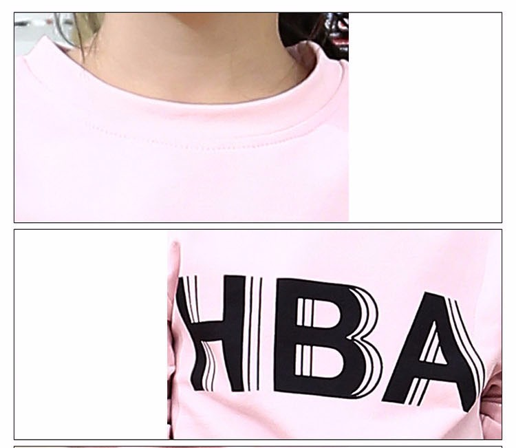 little teenage girls clothes sports suits girls outfits tracksuit autumn spring letters tops t shirts black pants tracksuits girls sets 5 6 7 8 9 10 11 12 13 14 15 16 years old little big teenage girl children sport sets clothing set for gir (3)