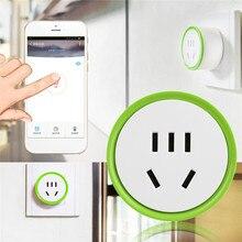 2200 W WiFi Plug Mini APLICATIVO De Tempo de Controle Remoto Inteligente Tomada AC Tomada Plugue Sem Fio Interruptor da Tomada de Poder de Controle Inteligente