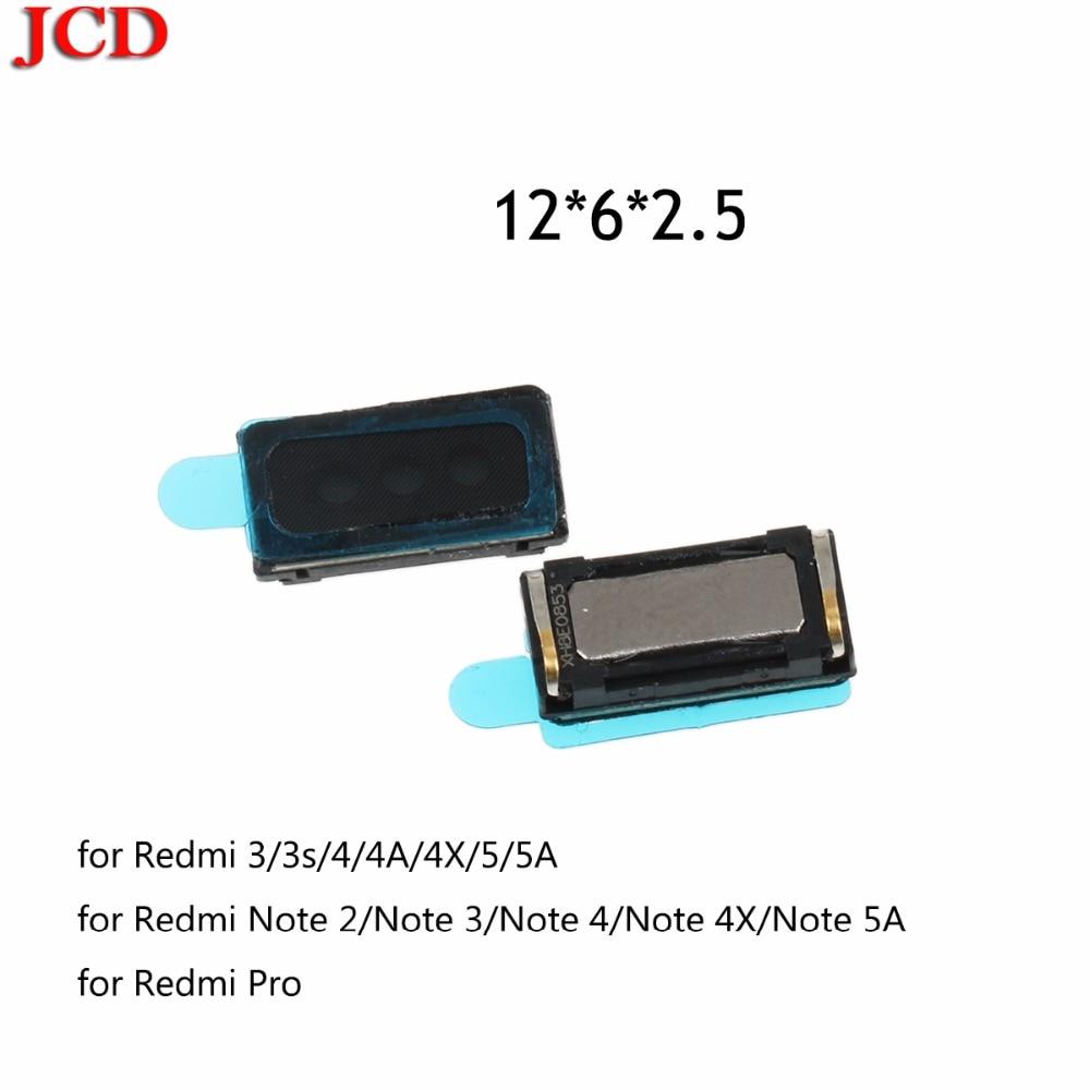 JCD For ASUS  New Earpiece Ear Speaker Replacement For Xiaomi Redmi 3 3s 3X / Redmi 4 4A 4X  Earpiece Speaker Earphone Speaker