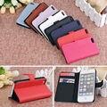 Qualidade lichee padrão flip caso capa de couro para apple iphone 5 s 5g Titular Do Cartão Carteira Suporte Do Telefone Cove para iPhone5 5S