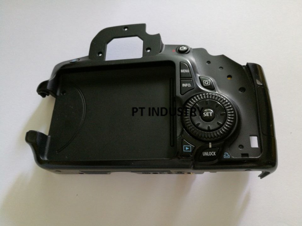 Electronics Stocks Repair Parts For Canon Eos 60d Back Cover Rear Shell Assy With Function Key Menu Button Cable