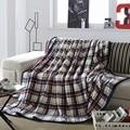 Одеяло Хорек одеяло кашемир теплые одеяла бренд флис плед супер теплый мягкий бросок на Диван/Кровать/Самолет Путешествия пледы лоскутная