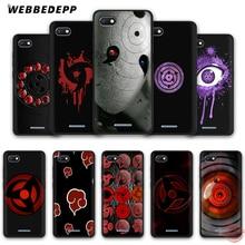 WEBBEDEPP Шаринган Наруто Риннеган мягкий чехол для телефона для Redmi Note 8 iPhone 7 6 Plus 5 iPad Pro 4A 5A 6A 4X5 плюс S2 Go чехол s