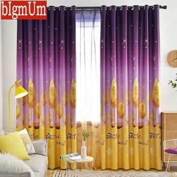 2019 cortina Para niños Para la habitación De los niños ...