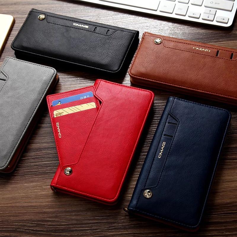 For iphone 11 Case Flip Wallet PU Կաշի կափարիչ iphone 6 6s - Բջջային հեռախոսի պարագաներ և պահեստամասեր - Լուսանկար 6